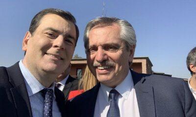 Gerardo Zamora y Alberto Fernández
