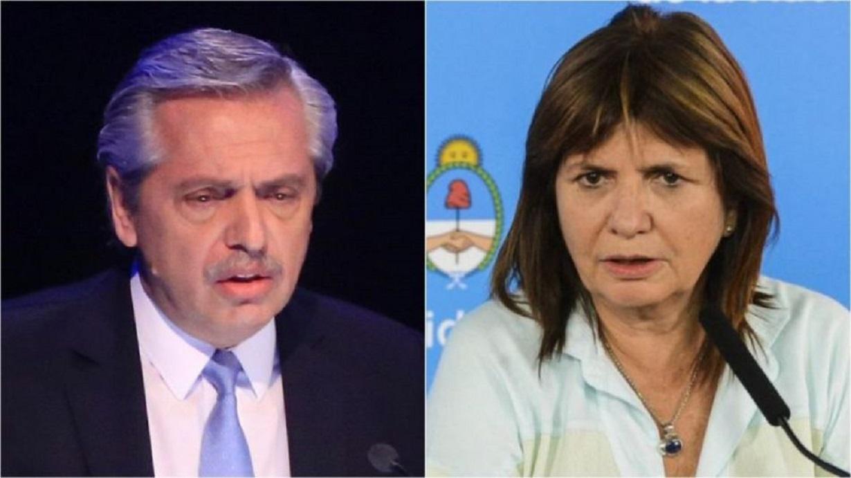 Alberto Fernández y Patricia Bullrich