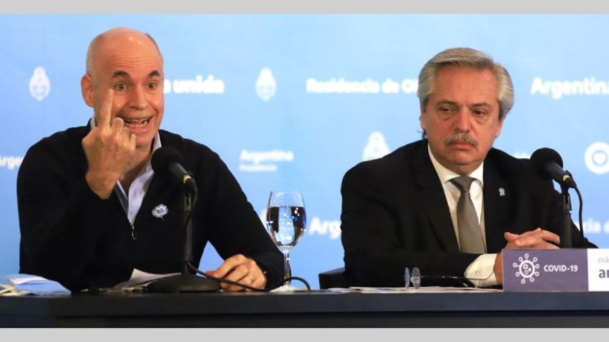Horacio Rodríguez Larreta vs Alberto Fernández