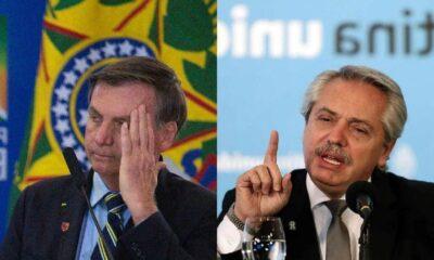 Alberto Fernández vs Jair Bolsonaro